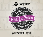 NaBloPoMo- November 13, 2013